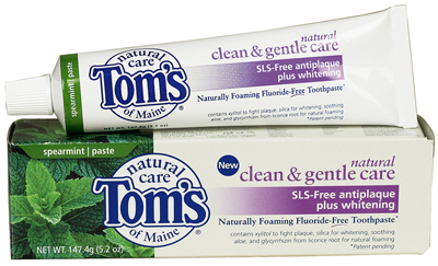 Tom's Toothpaste - Recommended by South Charlotte Dentistry