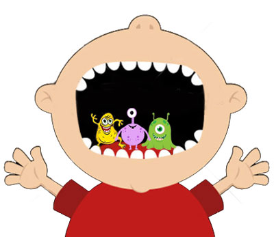 Charlotte Dentist in Ballantyne area provides information about Bacteria in mouth.