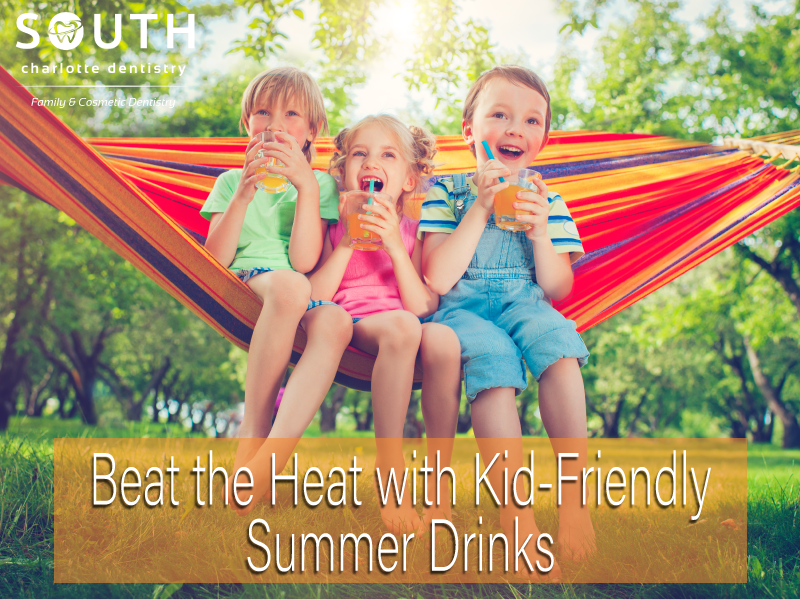 Kid Friendly Drinks for the Summer