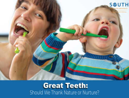 Great Teeth: Should We Thank Nature or Nurture?